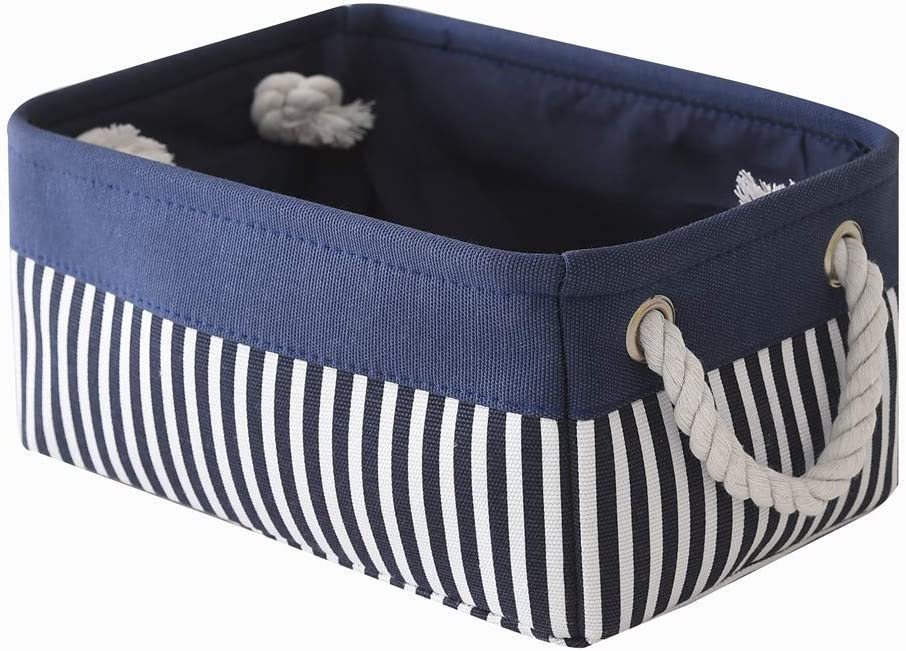 Small Fabric Nautical Storage Baskets