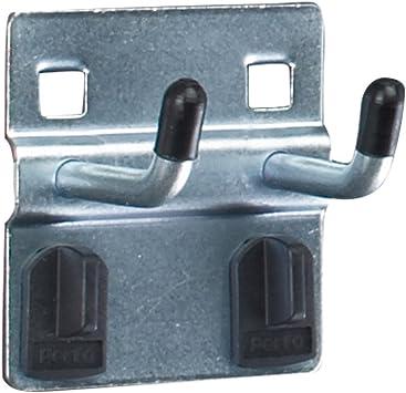 Kayser Gancho atornillable con peque/ña placa t 50 mm 5 unidades