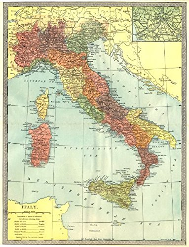 Amazon.com: Italy. Inset Rome Environs - 1907 - Old map ... on old map fl, old medieval europe map, 19th century rome, old world map, old waikiki hotels, old maps of kentucky, old map italy, imperial fora rome, old riviera hotel las vegas, medieval rome, old mesopotamia map, old rome restaurants, old map wallpaper, greece and rome, old map with compass, old hotel rome, republican rome, ancient rome, old map template, old map georgia,