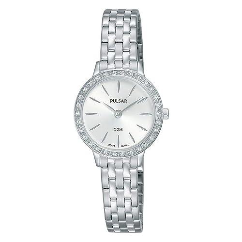Seiko Pulsar Reloj Mujer clásico Acero pm2271 X 1