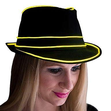 muium Creativo Sombrero con Nocturna Luces para Las Unisex, Gorra ...