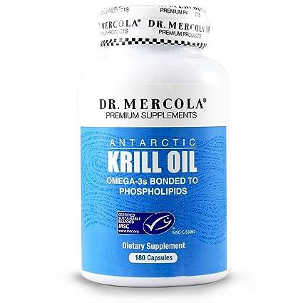 Krill Oil, 180 Fish Gelatin Caplique Capsules by Dr Mercola