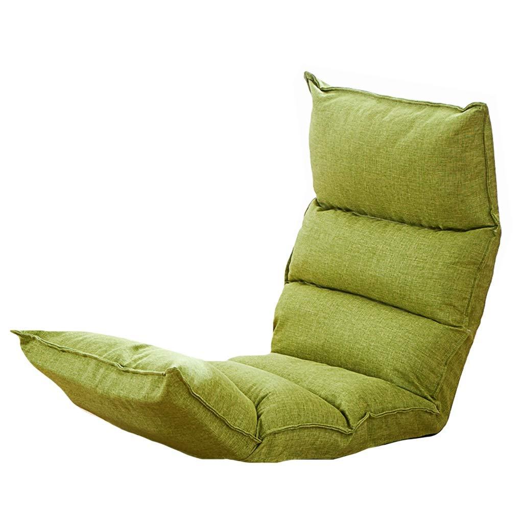 Bodenstuhl Boden-Stühle Mit Hinterer Unterstützung, Faltbares Justierbares Positionen 5 Fauler Mann-Sofa Für Uhr-Fernsehspiel-Mittags-Rest-Haar, Völlig Zusammengebaut