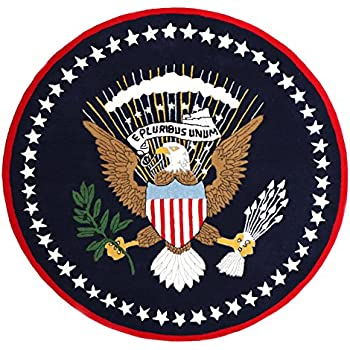 Amazon Com United States Great Seal Rug Kitchen Amp Dining