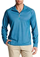 Tommy Bahama Men's Double Eagle Half Zip Leisure Tech Pullover Shirt