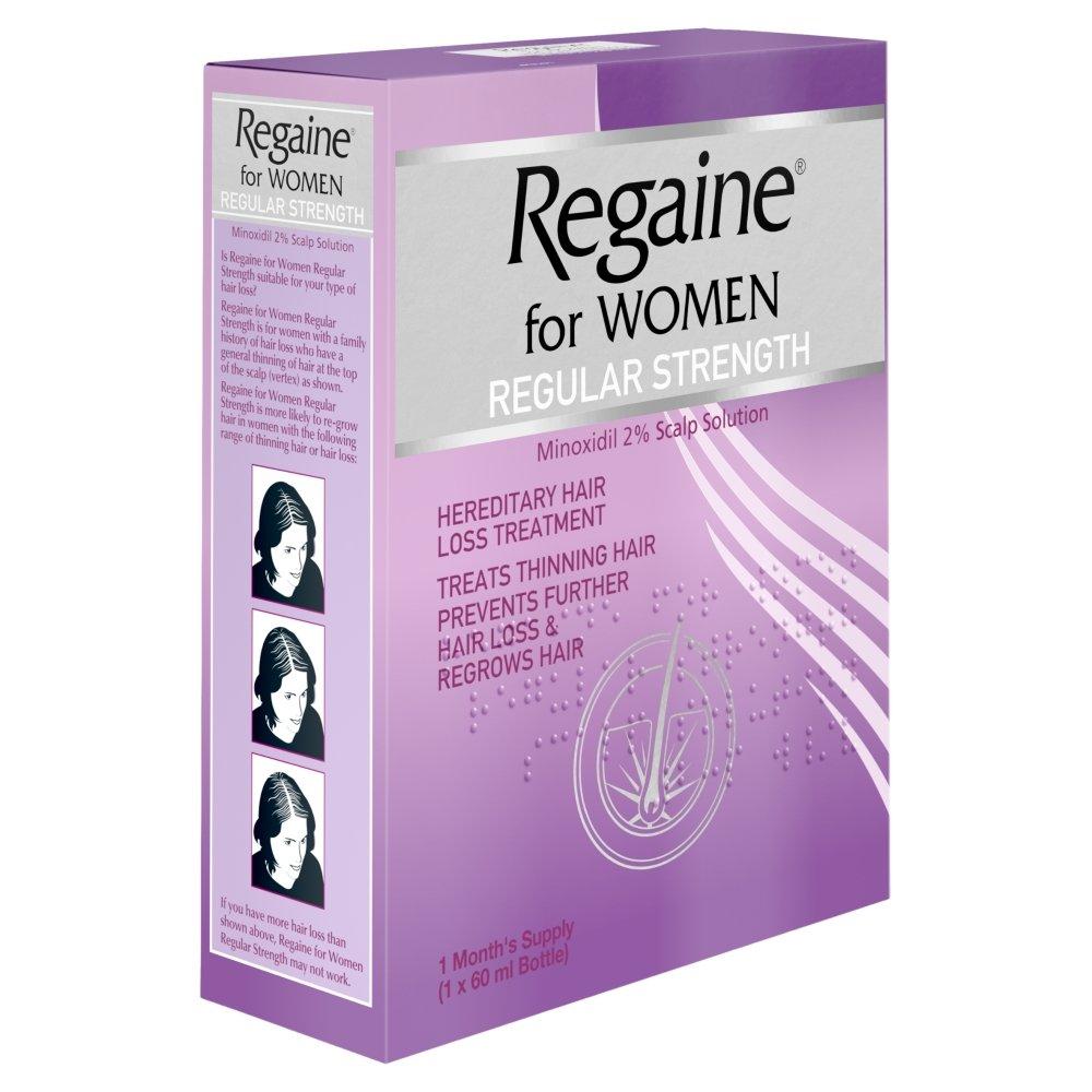 Regaine for Women Regular Strength 2% Minoxidil - 60 ml 2847309 Health Hair loss treatment hair care