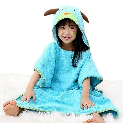 Poncho de baño premium para una toalla con capucha con capucha para niño o bebé Motivo