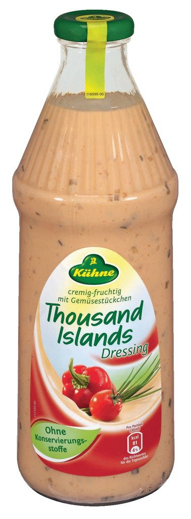 Kühne Thousand Islands Dressing 1l Amazonde Lebensmittel