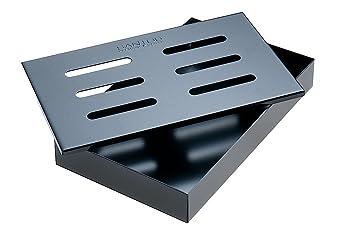 Santos Ahumador Caja Incienso Box Black Barbacoa Accesorios para barbacoa de gas barbacoa de carbón y