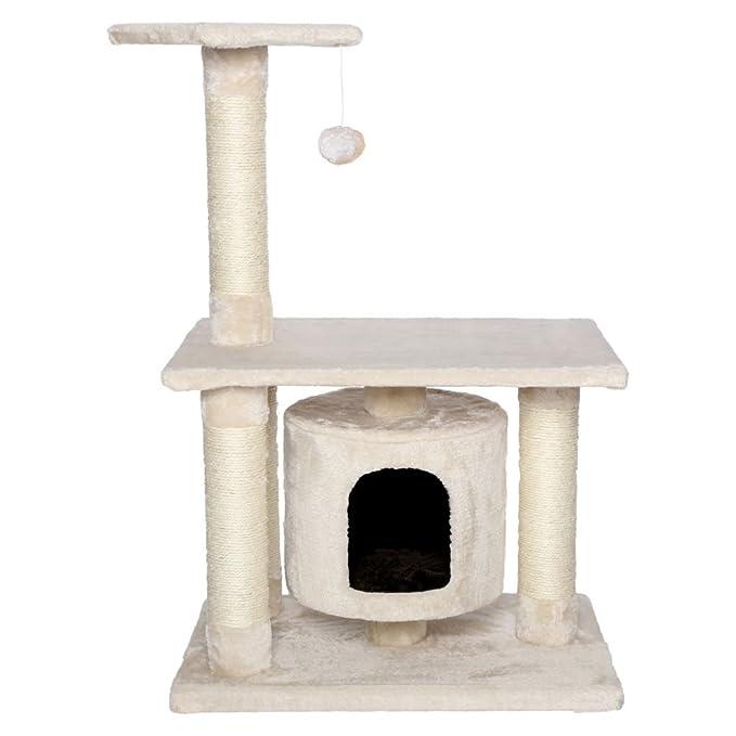 Dibea KB00221 Árbol Rascador Escalador para Gatos, Altura 90 cm, Color Marrón: Amazon.es: Productos para mascotas