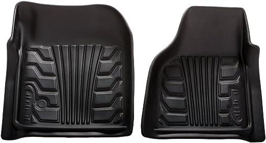Set of 2 Lund 283040-T Catch-It Vinyl Tan Front Seat Floor Mat