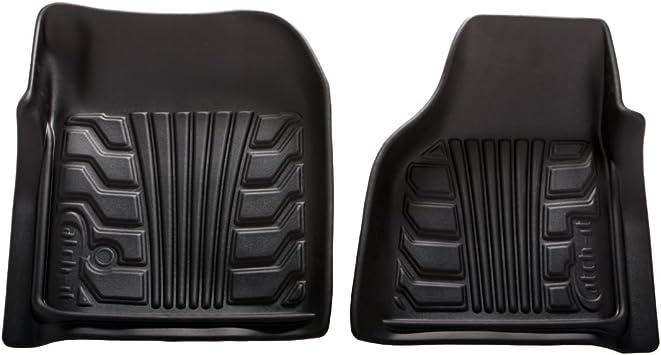 Set of 2 Lund 283074-B Catch-It Vinyl Black Front Seat Floor Mat