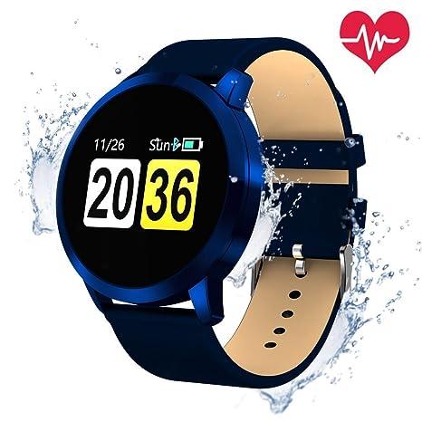 OUKITEL W1 Reloj Pantalla táctil conectada IP67 Rastreador de actividad física a prueba de agua cardíaca