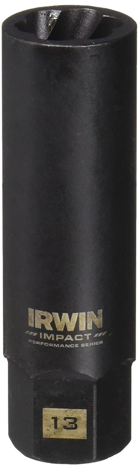 Bolt-Grip 1859103 Irwin Tools Impact Performance Series Bolt Grip Bolt Extractor with 3//8-Inch Square Drive with 1//4-Inch Hex Adapter