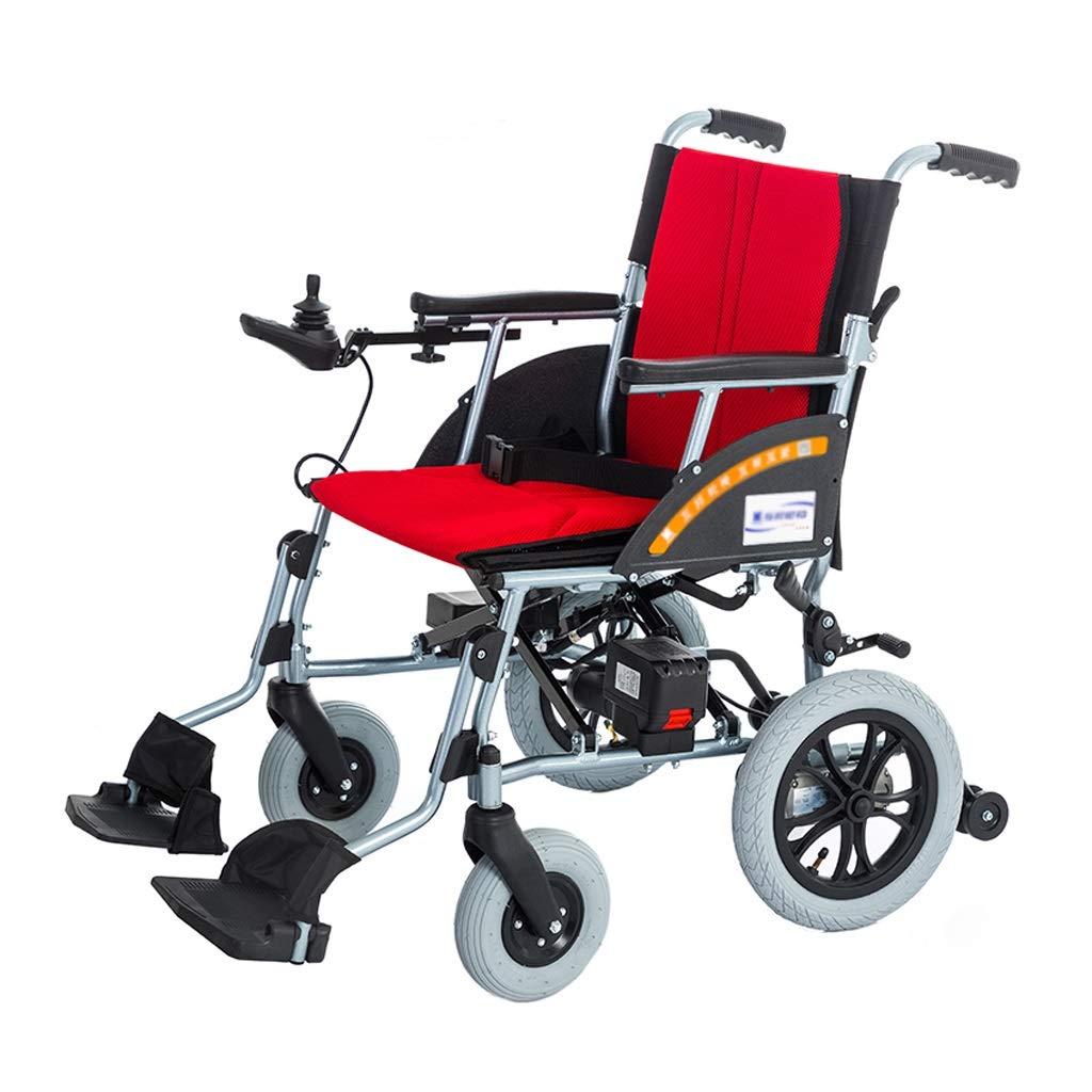 お待たせ! 電動車椅子 - 取り外し可能なリチウム電池折りたたみ式フロントとリアのコントローラー操作が簡単で障害のある高齢者に最適 (色 電動車椅子 : - 赤) 赤 (色 B07P8DDDPY, 【国内発送】:22673f4e --- a0267596.xsph.ru