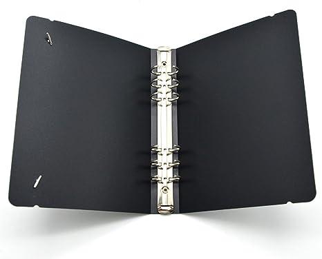 Amazon.com: Cubierta para carpeta de anillas A5-6.: Office ...