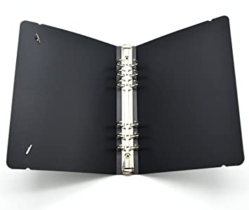 amazon accessories a5 binder cover black plastic cover a5 6