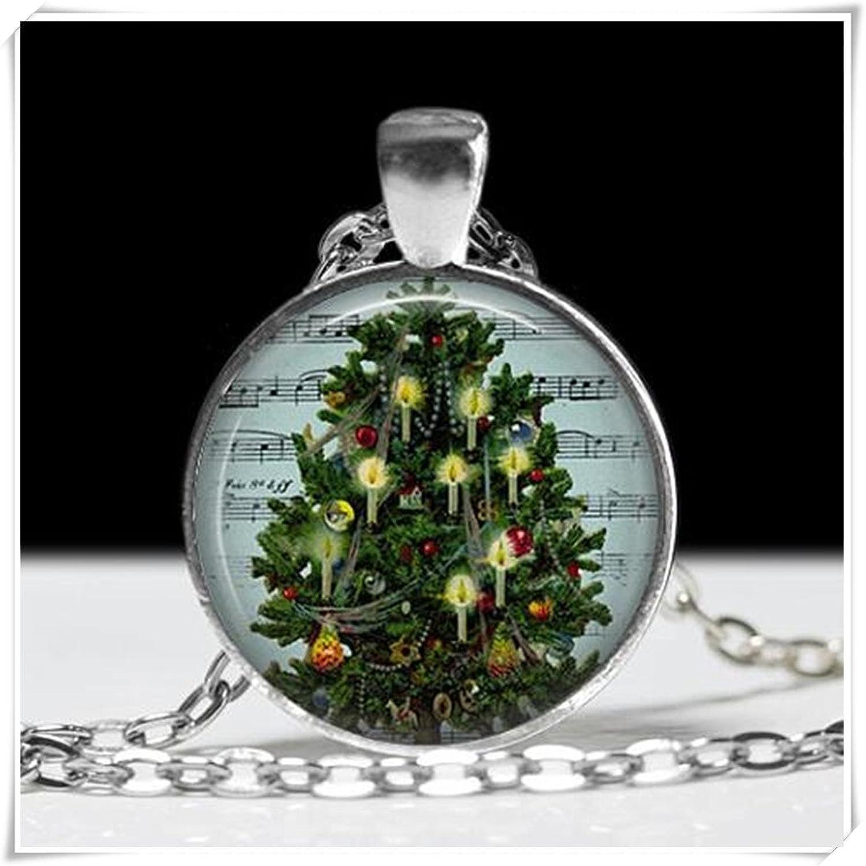 Árbol de Navidad Collar con colgante