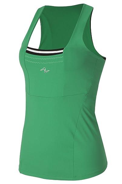 Naffta Tenis Padel - Camiseta Asas para Mujer, Color Verde Hierba ...