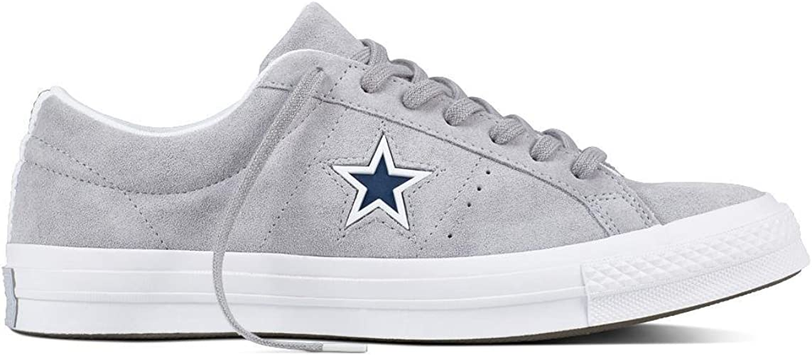 | Converse One Star Wolf Grey Suede Womens US 5½