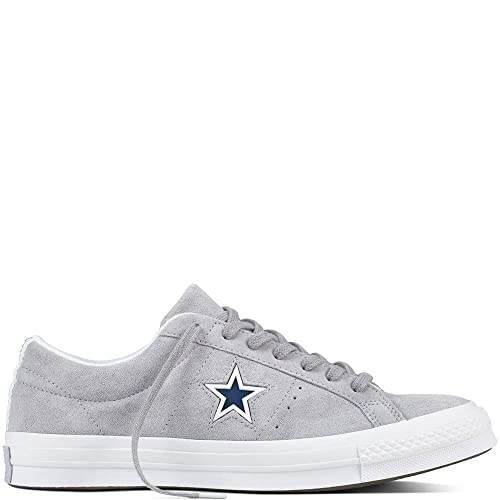 1568faaded0383 Converse Unisex Kids  Lifestyle One Star Ox Suede Fitness Shoes ...