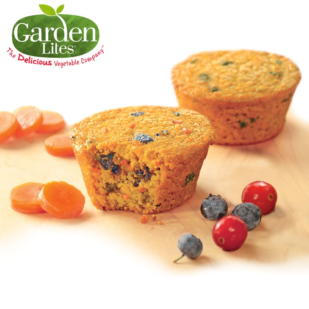 Veggies Made Great Carrot Berry Muffins (48) by Garden Lites