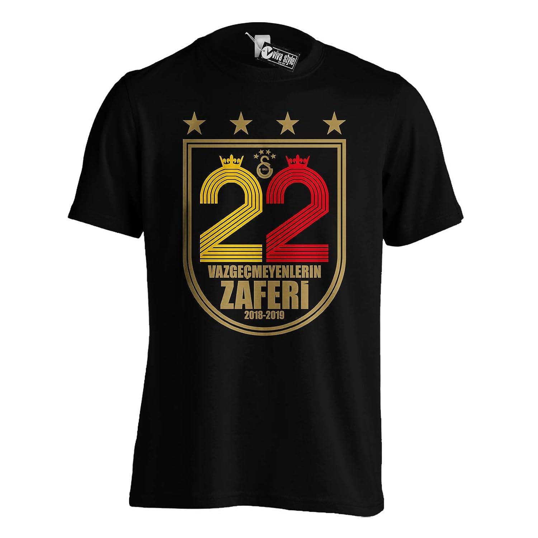 biseler24 T Shirt Galatasaray Sampiyonluk 2019 T Shirt UltrAslan Istanbul T/ürkiye TS1026