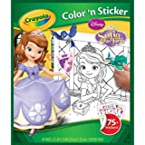 Crayola Sophia The First Color 'n Sticker Books