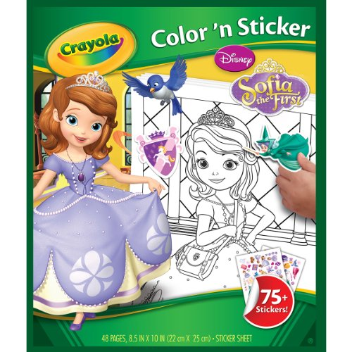 Crayola Sophia The First Color N Sticker Books