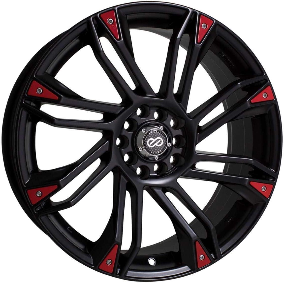 Enkei GW8 (18 x 7.5, 5 x 100 & 5 x 114.3) 42mm Offset, Black, (1) Wheel/Rim