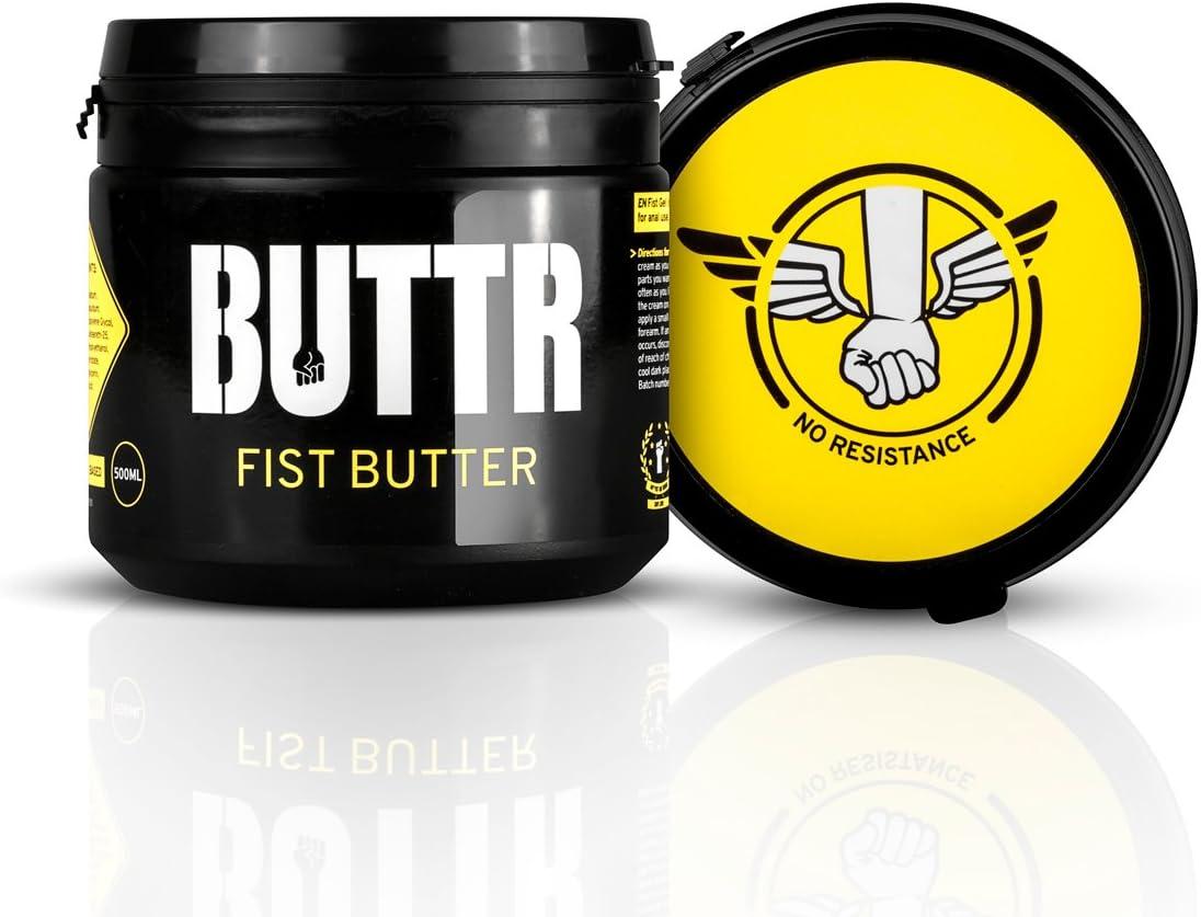 BUTTR Fisting Butter (500 ml) Mantequilla lubricante para fisting, lubricante anal suave y grueso para máxima lubricidad