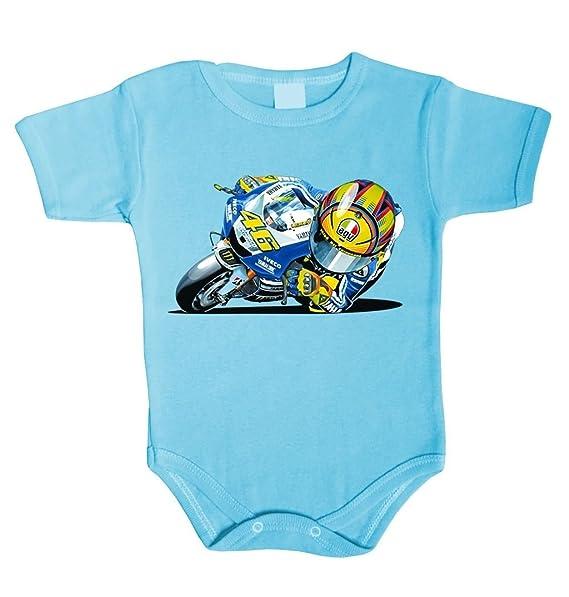 Unbekannt - Camisilla - para bebé niño Azul 62 cm (0-3 Meses)