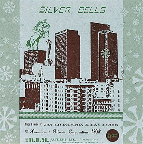 silver bells / christmas time is here 45 rpm single (Bells Christmas Here Silver Is)