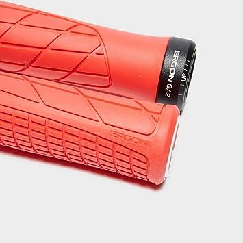 Ergon Grips Technical-GA2 Fat Risky Red Taille Unique Rouge Poign/ée v/élo Adulte Unisexe