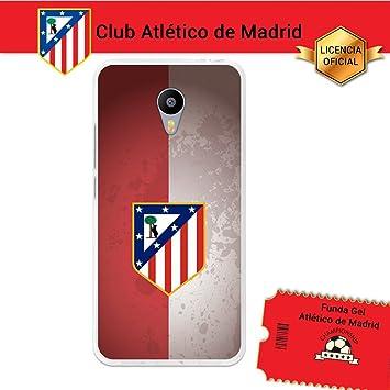 Atlético de Madrid Funda Gel Flexible Meizu M3 Note, Carcasa TPU, Protege y se Adapta a la Perfección a tu Smartphone. Licencia Oficial Escudo 4: Amazon.es: Electrónica