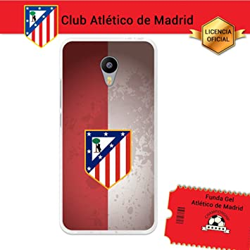 Atlético de Madrid Funda Gel Flexible Meizu M3 Note, Carcasa ...