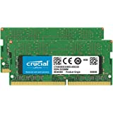 Crucial 32GB Kit (2 x 16GB) DDR4-2666 SODIMM CT2K16G48FD8266