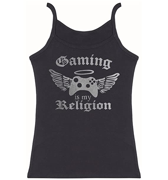 Amazon Phunky Buddha Gaming Is My Religion Womens Novelty