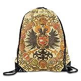Nollm Coat Of Arms Of Germany Large Drawstring Sport Backpack Sack Bag Sackpack