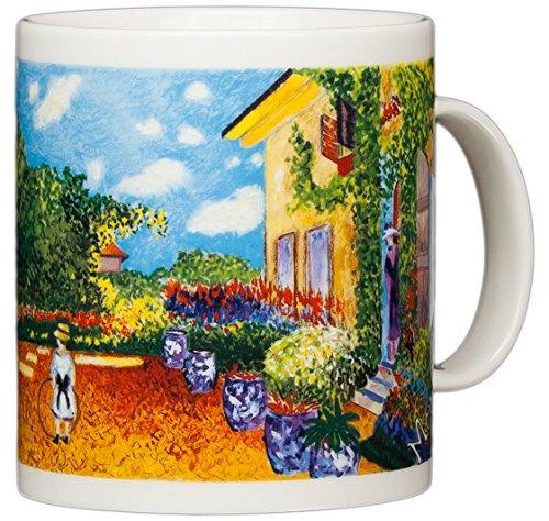Claude Monet - Artist's House at Argenteuil - 14oz Coffee Mug