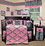 Lamp-Shade-for-Pink-Minky-Zebra-Baby-Bedding-Set-By-Sisi