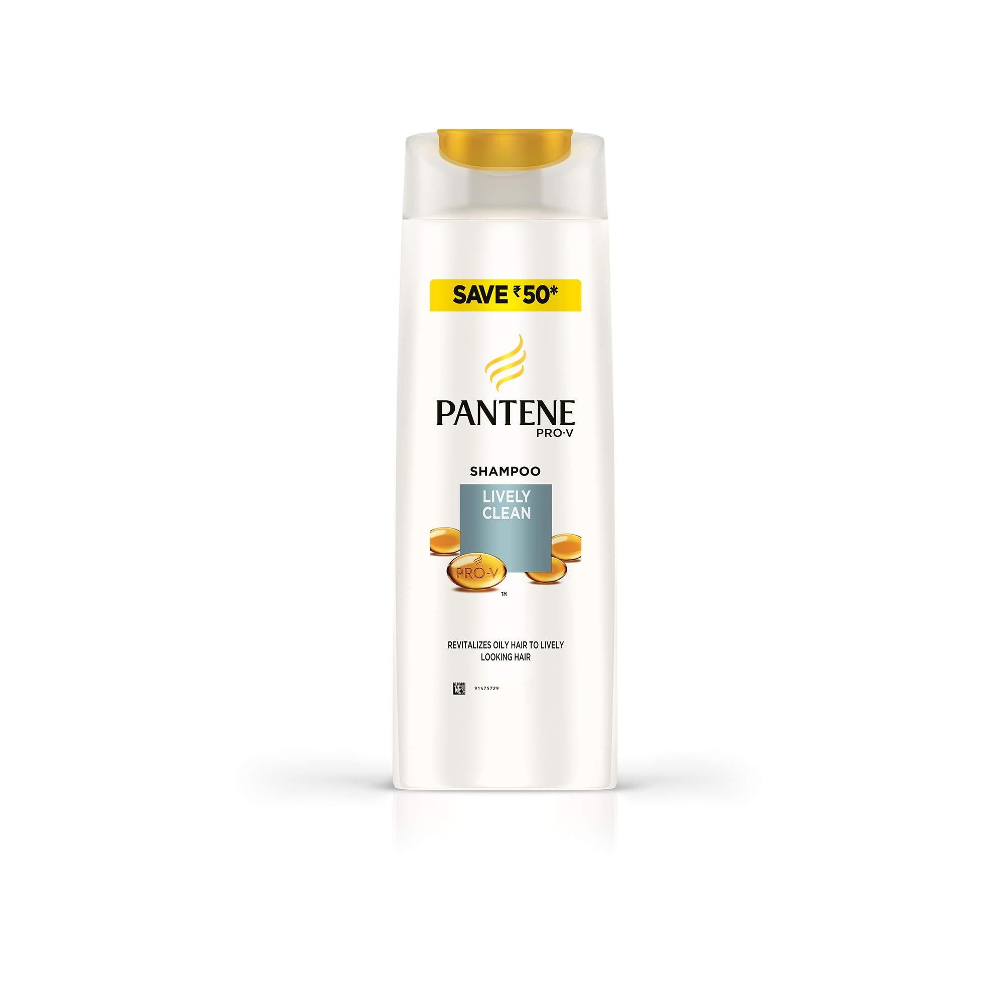 Pantene Lively Clean Shampoo, 400ml product image