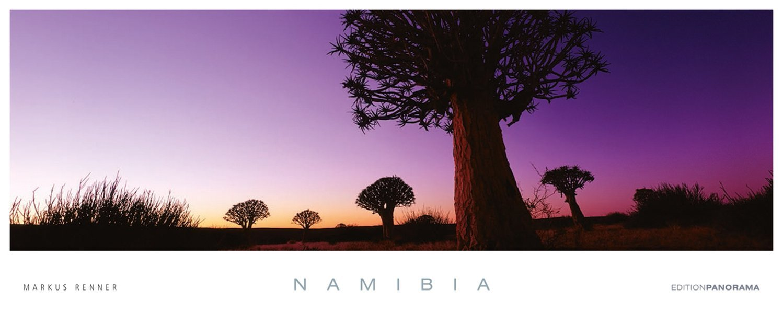 Namibia Edition Panorama Immerwährend