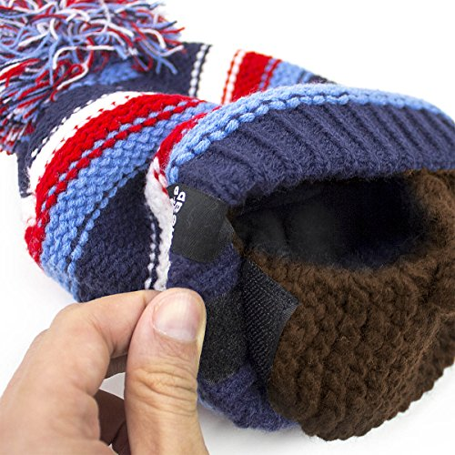 268f89aacc6 Beard Head Kid Gromm Beard Beanie -Knit Hat and Fake Beard for Kids and  Toddlers