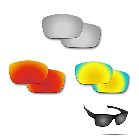 e2280e3f80f Image Unavailable. Image not available for. Color  Fiskr Anti-Saltwater Polarized  Replacement Lenses for Oakley TwoFace Sunglasses ...