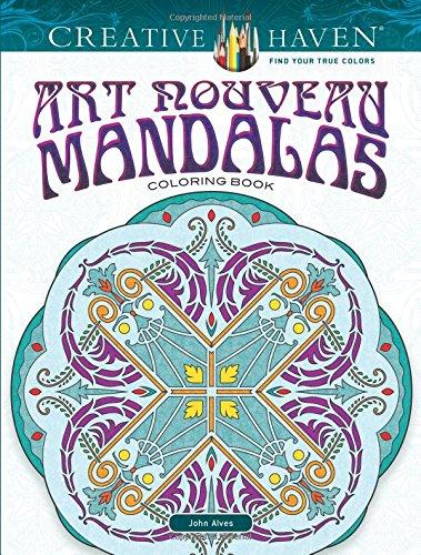 Creative Haven Art Nouveau Mandalas Coloring Book (Adult Coloring)