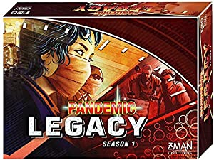 Red Pandemic Legacy Strategy Board Game - New 2017