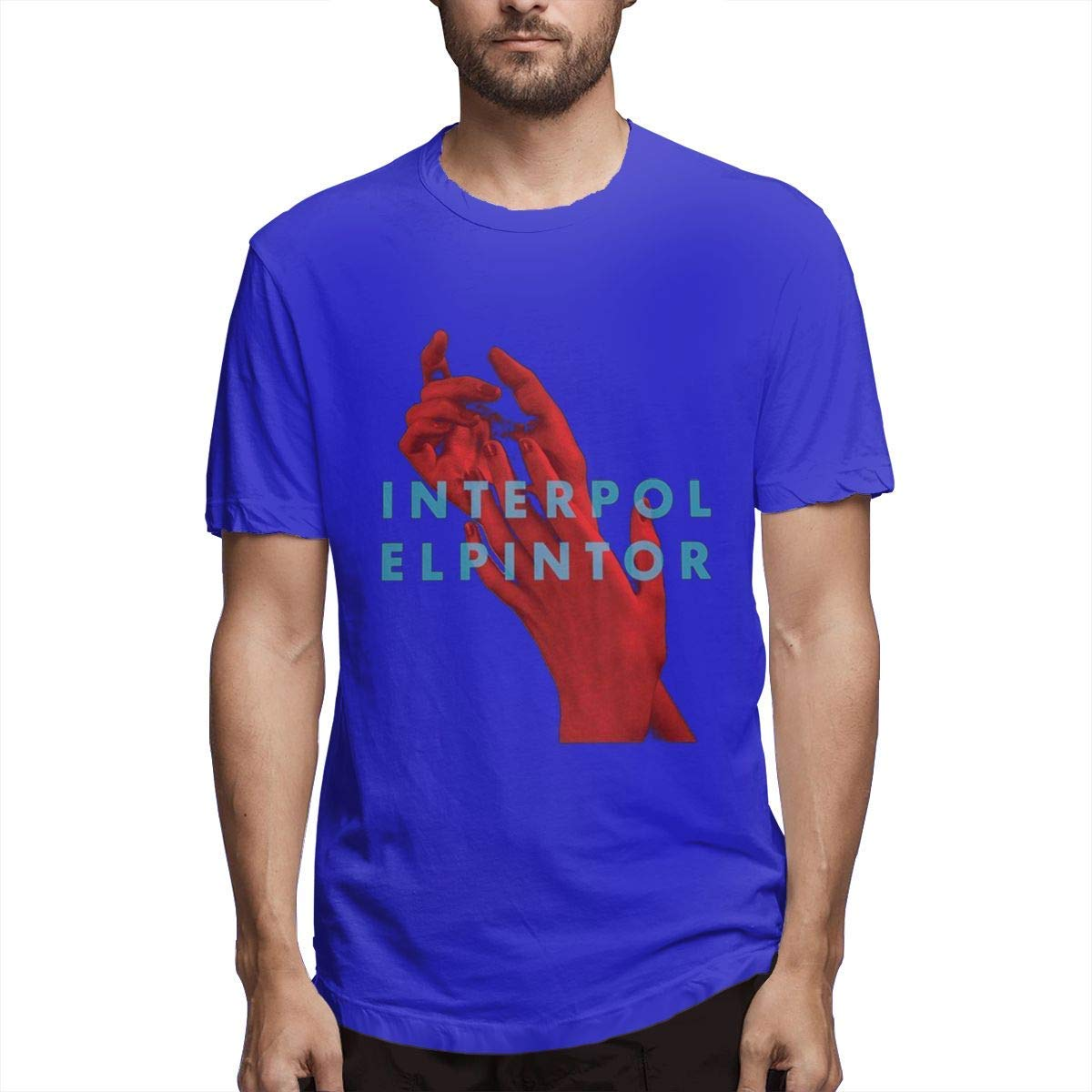 Slaoero Interpol El Pintor Funny Summer Cool Soft Tshirt For