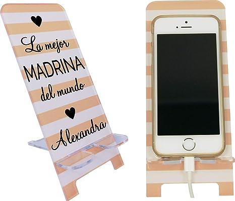 La mejor Madrina del mundo - Porta teléfono móvil personalizable ...