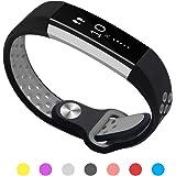 Kutop Fitbit alta HR バンド, 柔らかいシリコン調整可能バンドの取替可能Fitbit Alta HRに適用するスマート時計心拍フィットネス腕時計